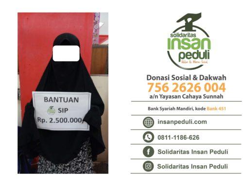 Bantuan SIP Ke-902 Rp 2.500.000
