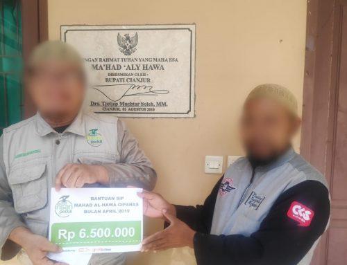 Bantuan SIP Ke-1602 Rp 6.500.000